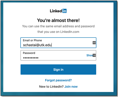 How do I access LinkedIn Learning?