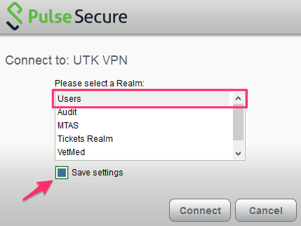 How do I connect to the VPN using Pulse Secure/Junos Pulse